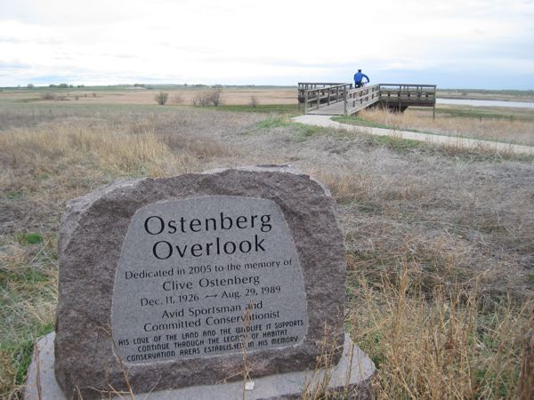 The Ostenberg Overlook is a lovely spot.