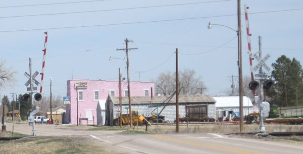 ... and the Pink Palace pub/grill in McGrew ...
