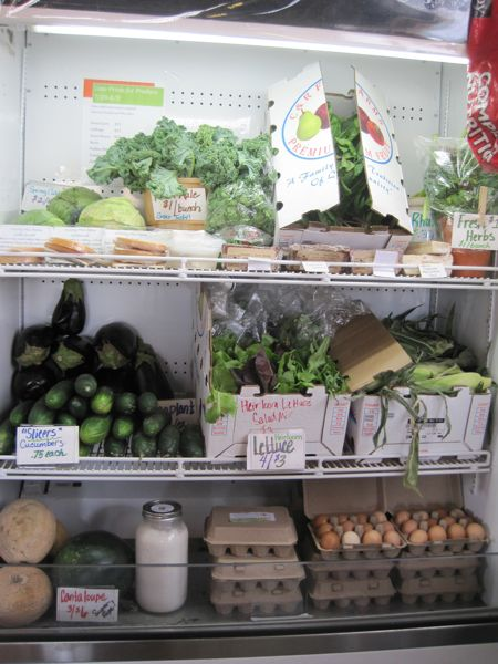 The produce cooler