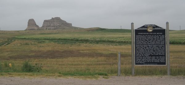 Courthouse and Jail Rocks