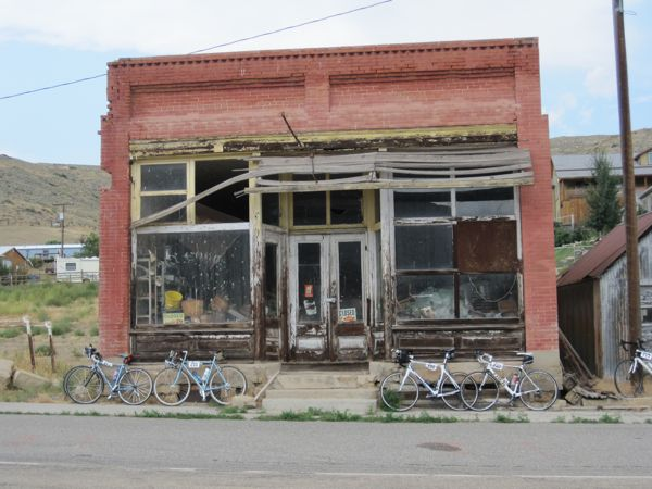Bearcreek has been better days. The highest and best use of this old building might just be bike parking.