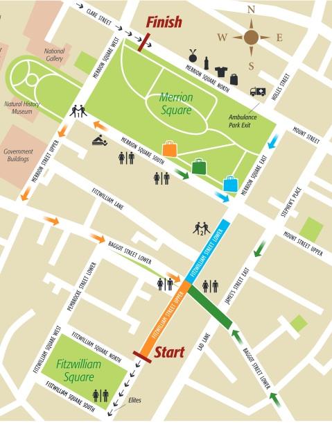 start area map