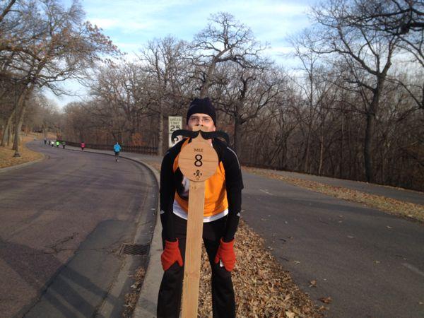 Bugman at mile 8!