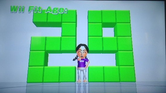 wii fit age