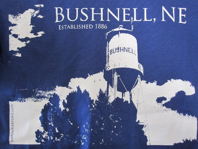 bushnell water tower shirt
