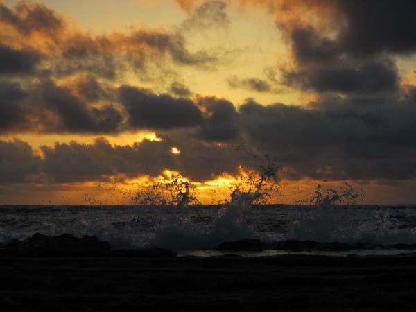 angry sunrise