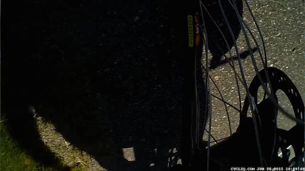 Oh, hey - there's my bike's rim. A Velocity Dyad? Nice!
