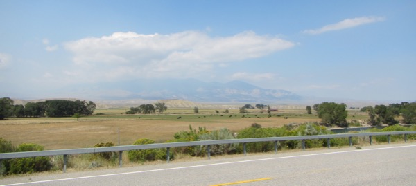 The further north we got into Montana, the more the wildfire smoke seemed to clear. Interesting!