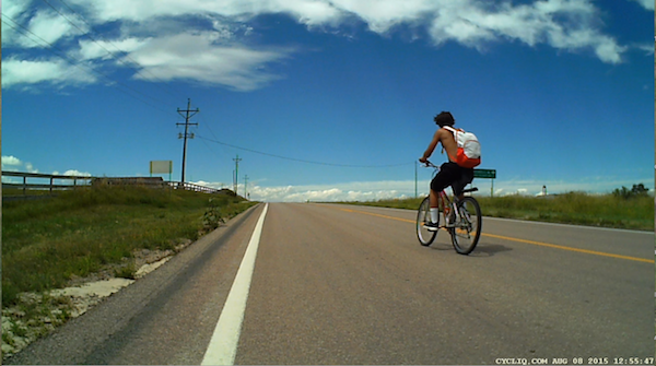 cycling against traffic
