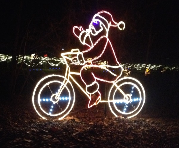 Merry Christmas from Wyobraska Tandem and Saluda Shoals Park ...