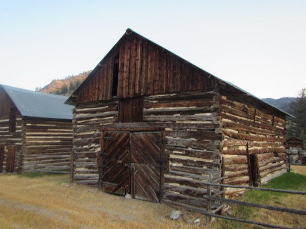 1 dewey log barns