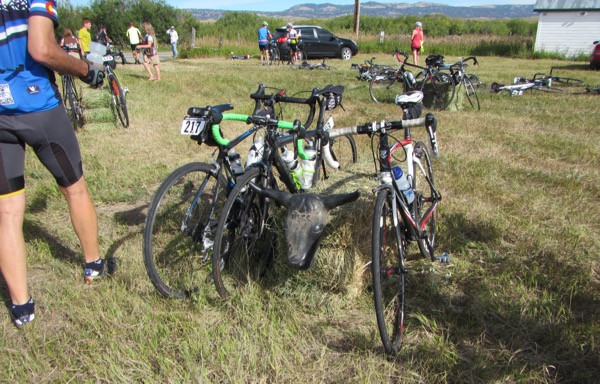25 roping dummy bike parking