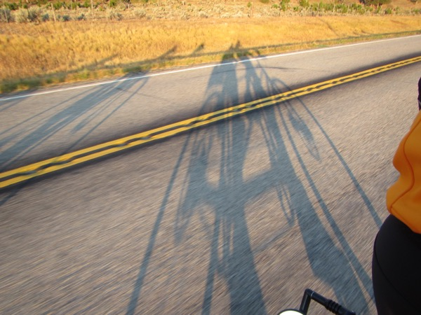 3 long shadows