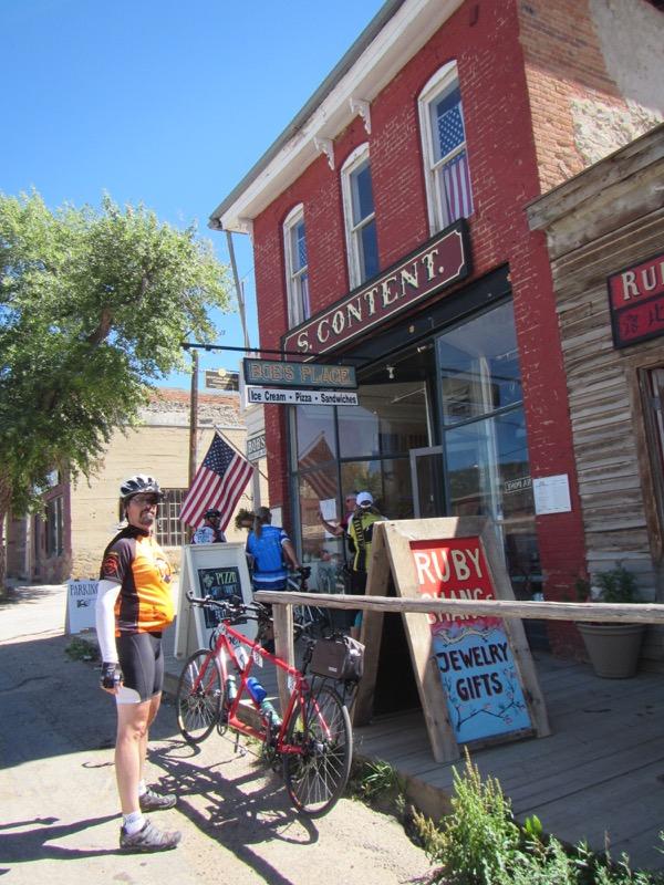 31 hitching post as bike rack