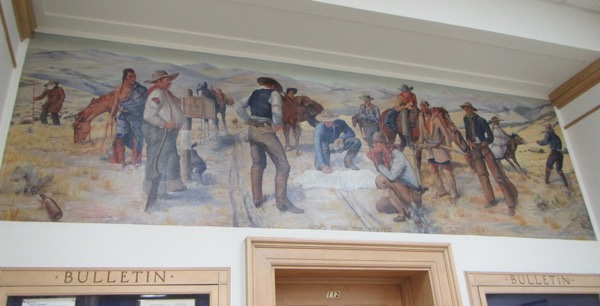 37 post office mural