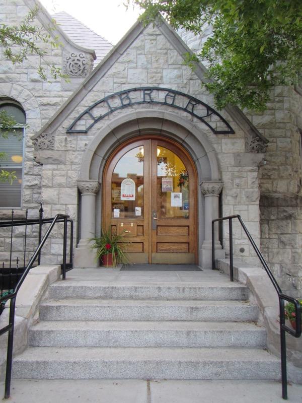 39 library door