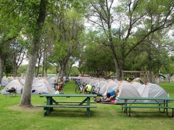 40 livinston tent city