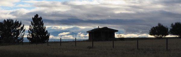 5 clouds and cabin