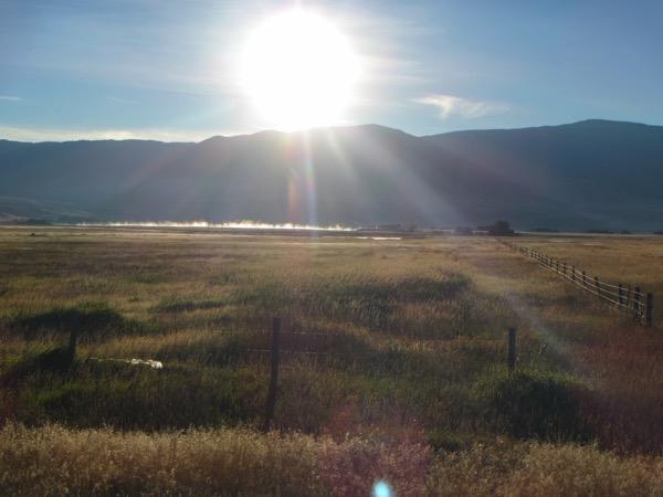 8 morning sun