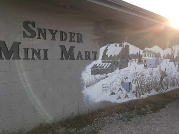 snyder gas station