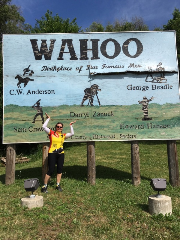 wahoo sign