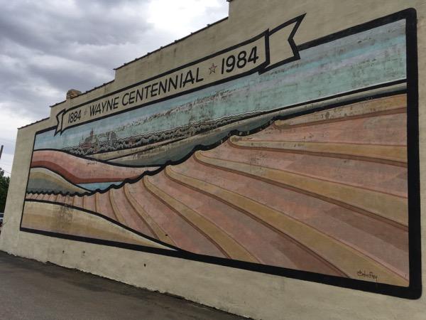 wayne mural